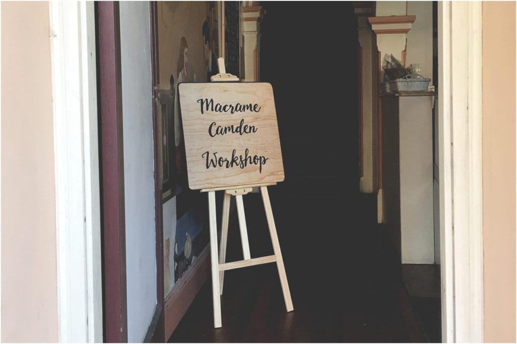 Macrame Camden. #macramecamdenworkshop